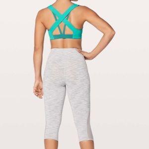 lululemon athletica Intimates & Sleepwear - NEW • Lululemon • Sweat Times Sports Bra Teal 8
